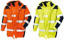 TEXXOR Warnschutz Parka TORONTO Wetterschutzjacke Jacke Arbeitsjacke S-XXXL