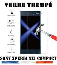 Pour Sony Xperia XZ1 Compact vitre protection en verre trempé film écran