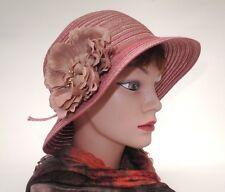 Cappello da donna romantica a campana Cloche Vacanza Sole Caso di viaggio