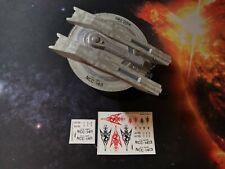 CUSTOM DECALS for USS SHRAN MAGEE CLASS Star Trek Discovery EAGLEMOSS - NO MODEL