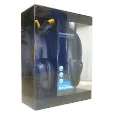 Grundig Stereo Headphone, with Grill Ear Caps Turntable Earphones MP3 CD Ipod