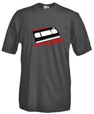 T-Shirt girocollo manica corta Vintage V35 VHS Video Home System entertainment