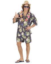 Costume Carnevale Uomo Hawaiano Camicia, Pantaloncini PS 26405