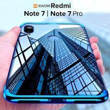 COVER per Xiaomi Redmi Note 7 / Pro CUSTODIA ELECTRO + PELLICOLA VETRO TEMPERATO