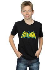DC Comics Garçon Batman Retro Logo T-Shirt