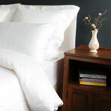 400tc de Algodón Sábana ajustable blanco Hotel Calidad Individual Doble King Superking