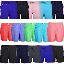 Para Hombres Verano Pantalones Cortos de Natación Nadar simple Rayado Bolsillos con Cremallera Varios Estilos S-XXL