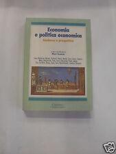 TALAMONA ECONOMIA E POLITICA ECONOMICA, CISALPINO 1996
