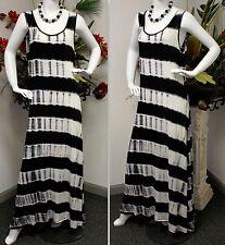 Stunning Long Maxi Dress, A Line Dress, Splash Dress, Sizes 2XL