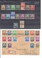 Elsass 1940, 1 - 16 o/*/(*), wahlweise gestempelt oder ungebraucht, KW €15 -  75