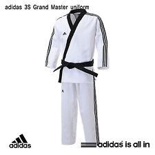 Adidas New 3S Grand Master Uniform/Taekwondo Dobok/ITF style/HAPKIDO Uniform