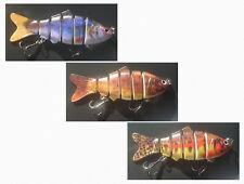 Leurre de pêche articulé - 6 segments 10 cm 18 g - Carnassiers, brochet, sandre.