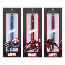 Cross marvel tech 2 stylo à bille & stylet captain america, iron man, spider man