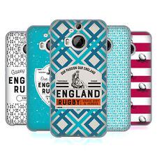 Oficial Inglaterra RUGBY Unión 2017/18 Patrimonio De Gel Suave Estuche Para HTC Teléfonos 2