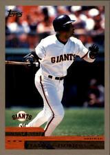 2000 Topps San Francisco Giants Baseball Card #250 Barry Bonds