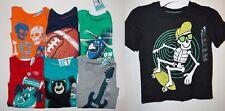 Circo Toddler Boys T-Shirt  Bear, Guitar, Race Car, Skulls, Football, Helicopter