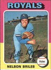 1975 Topps Baseball Card #495 Nelson Briles - EX-MT