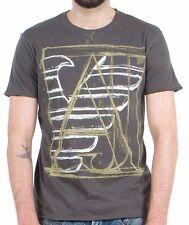Armani Jeans Mens Brown H/S Tshirt - Sz XXL & XXXL BNWT
