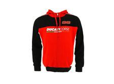 2017 Ducati Corse Jorge Lorenzo Men's Hoodie Hoody Official Desmo GP MotoGP Bike