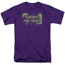 Licensed Batman Arkham City Joker Fun House Adult Shirt