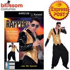 CA561 Rapper MC Hammer 80s 90s Video Super Star Old School Ali G Hip Hop Costume
