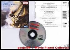 """TELEMANN """"Danziger Kantaten"""" (CD) H.Max 2000"""