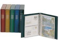 Lindner álbum de postales CLÁSICO equipado con Estuche,también individualmente