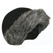 Grey Fur Coolcasc Helmet Covers Stretch Fit Ski Snowboard Skate Best Gift Idea