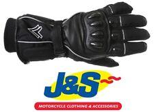 Frank Thomas Navigator Waterproof Motorcycle Winter Gloves Thermal Black WP J&S