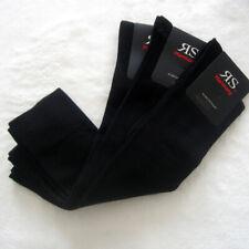 3 Paar Harmony Damen Kniestrümpfe mit elastischem Komfortbund schwarz 35 bis 42