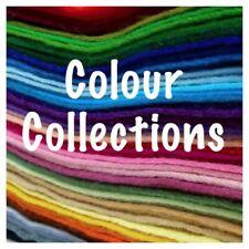 Colección de color creativos de fieltro, fieltro de artesanía, muñeca de decisiones, juguetes suaves, Peluches