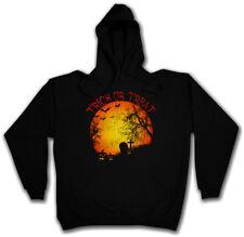Trick or Treat hoodie Graveyard Halloween Samhain USA creature splatter gore