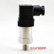 0-0.2/60Mpa Pressure Transmitter Pressure Transducer  G1/4 4-20mA output
