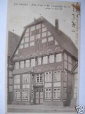5604 AK Bad Salzuflen altes Haus Langestr. 35 1931
