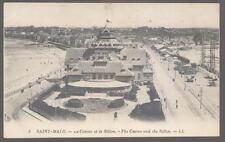 Postcard SAINT-MALO FRANCE Aerial View of  Le Casino Et La Sillon 1907?