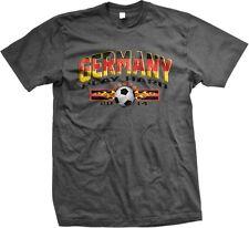 Germany 2014 Play Hard German Team Pride Soccer Ball World Cup -Mens T-shirt