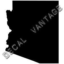Arizona Vinyl Sticker Decal State AZ - Choose Size & Color