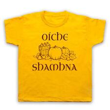 Oiche shamhna Samhain nuit gaélique Halloween rétro cool enfants garçons filles T-shirt