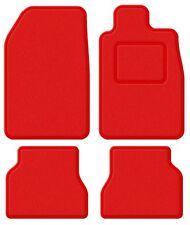 Vauxhall Carlton / Senator 78-94 Super Velour Red/Red Trim Car mat set