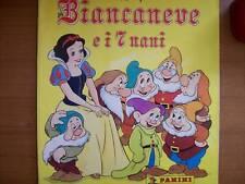 ALBUM FIGURINE BIANCANEVE E I 7 NANI EDIZ. PANINI