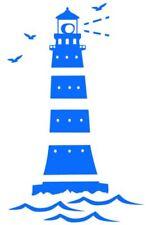 Leuchtturm  Aufkleber 60x37cm Wandtattoo  Badezimmer Bootaufkleber Auto (239/1)