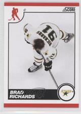 2010-11 Score #171 Brad Richards Dallas Stars Hockey Card