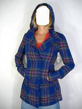 New Junior Womens Medium Roxy Midnight Bloom Long Jacket Hoody $95