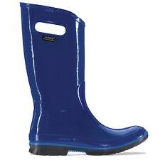 Damen Bogs Berkley Französisch Blau Gummistiefel Fest Regenstiefel Größe 4–9
