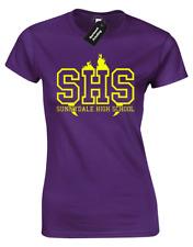 Sunnydale High School Ladies T-Shirt Buffy The Vampire Slayer Willow Retro Women