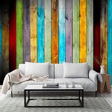 3D Planche Bois 81 Photo Papier Peint en Autocollant Murale Plafond Chambre Art