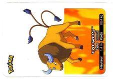 POKEMON LAMINCARDS CARTE CARD 128 TAUROS