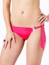 Bnwt La Senza 12 Tie Side Bikini Briefs in Pink & Gold