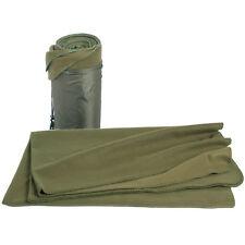 Fleece Decke, Fleecedecke, Picknickdecke, Campingdecke, oliv, coyote 2x1,5m