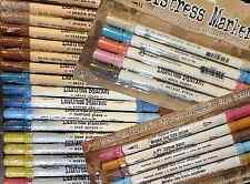 Tim Holtz Distress Marker Dual Tip Pen Single or Set Fine Point & Brush Ends NEW